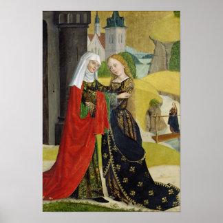 Visitation del altar de la bóveda, 1499 póster
