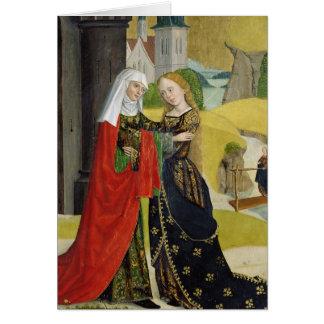 Visitation del altar de la bóveda, 1499 tarjeta de felicitación