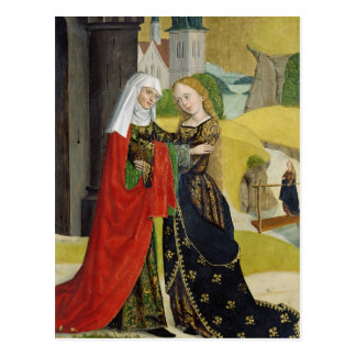 Visitation del altar de la bóveda, 1499 tarjeta postal