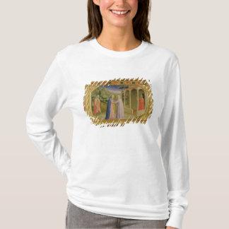Visitation, from predella Annunciation T-Shirt
