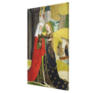 Visitation from the Dome Altar, 1499 Canvas Print