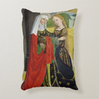 Visitation from the Dome Altar, 1499 Decorative Pillow