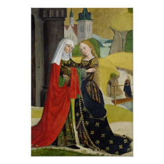 Visitation from the Dome Altar, 1499 Poster