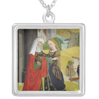 Visitation from the Dome Altar, 1499 Silver Plated Necklace