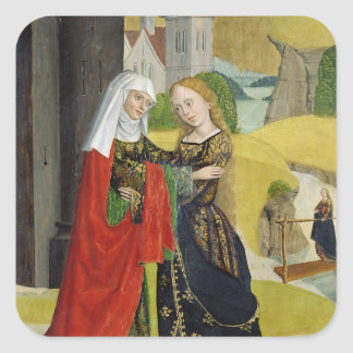 Visitation from the Dome Altar, 1499 Square Sticker