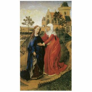 Visitation of Mary - Rogier Van Der Weyden Statuette