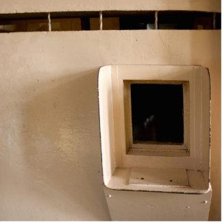 Visitation Window at Alcatraz Prison Photo Cut Outs