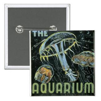 Visite el acuario - el poster de WPA - Pin
