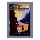 Visite el país de las maravillas del noroeste pací felicitaciones