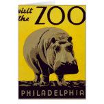 ¡Visite el parque zoológico!! Tarjeton