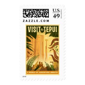 ¡Visite el Tepui! - Disney Pixar ENCIMA del cartel Franqueo