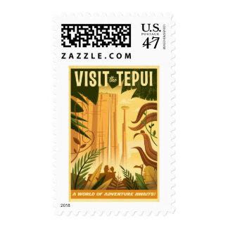 ¡Visite el Tepui! - Disney Pixar ENCIMA del cartel Sellos Postales