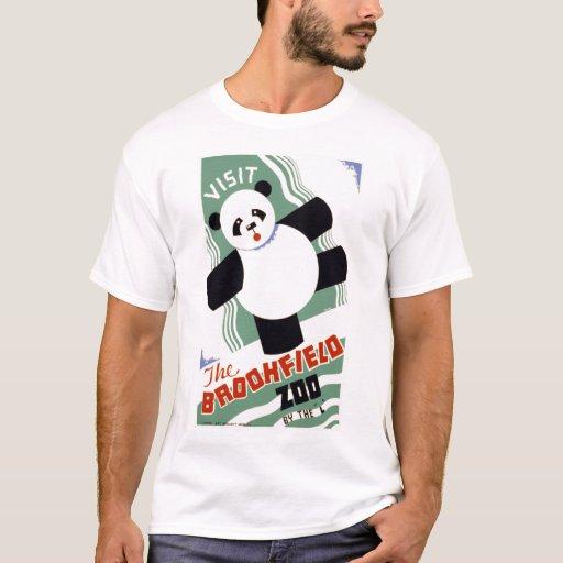 Visite la camiseta de WPA del vintage del parque