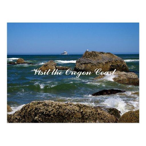 Visite la costa de Oregon Postal