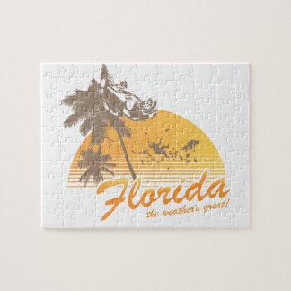 Visite la Florida, el tiempo grande - huracán Rompecabezas