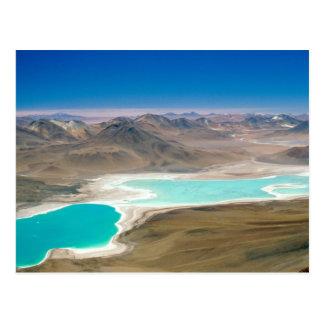¡Visité Laguna Verde en Bolivia! Postal
