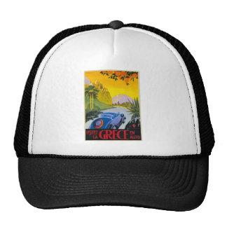 Visitez La Grece En Auto  Cap Hats