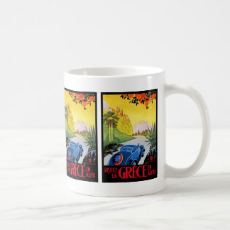 Visitez La Grece en Auto Coffee Mug