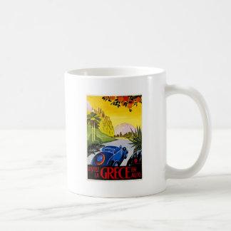 Visitez La Grece En Auto - Vintage Travel Poster Coffee Mug