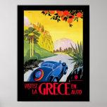 Visitez La Grece Poster