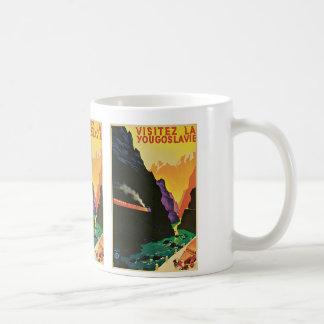 Visitez La Yougoslavie Classic White Coffee Mug