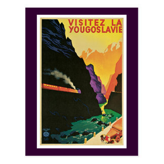 Visitez La Yougoslavie Postcard