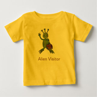 Visiting Alien Range Baby T-Shirt