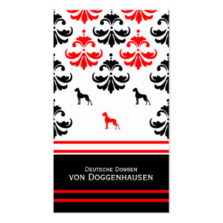Visiting card Dogge Business Card Templates