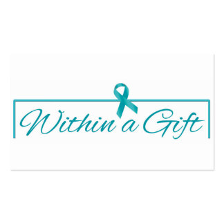 Visiting card Within a gift Business Card