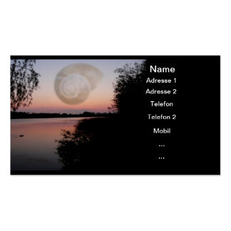Visiting cards ~ Heal Mother Earth Double-Sided Standard Business Cards (Pack Of 100)