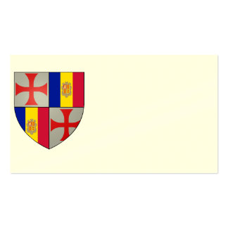 Visiting cards Templarii Andorra No 0117082013 Business Card Templates