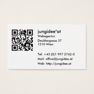 Visiting cards with aileron code