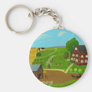 Visiting Day Keychain