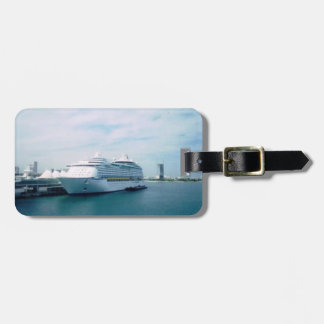 Visiting Miami Personalized Luggage Tag