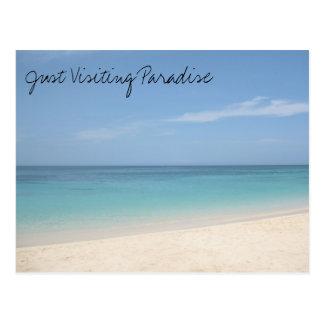 Visiting Paradise Postcard