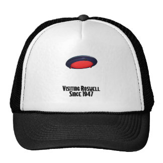 Visiting Roswell Trucker Hats