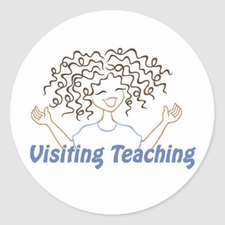 Visiting Teaching Stickers