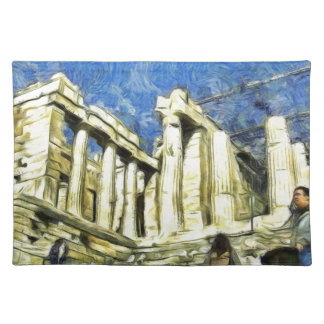 Visiting the Acropolis in Athens Placemat