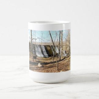 Visiting the park coffee mug