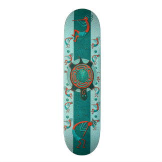 Visitors Anasazi Native Folk Art Skateboard Deck