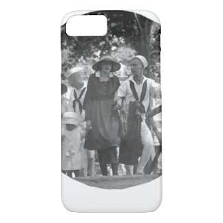 Visitors Day at the Naval Training _war image iPhone 8/7 Case