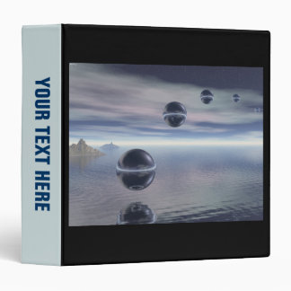 Visitors From Space 3 Ring Binder