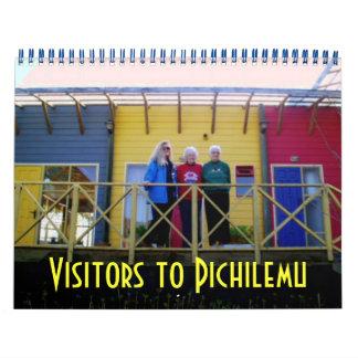 Visitors to Pichilemu Calendar
