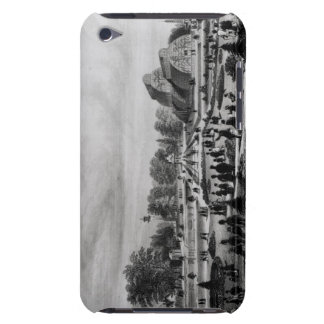 Visitors viewing the Palm House at Kew Palace, c.1 Barely There iPod Case