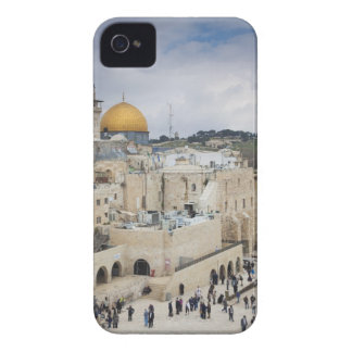 Visitors, Western Wall Plaza & Dome of the Rock iPhone 4 Case-Mate Case
