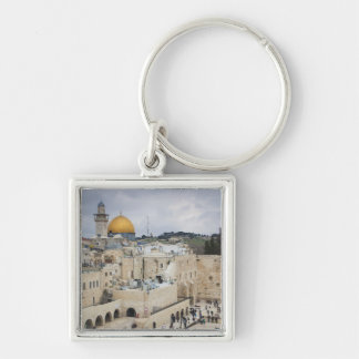 Visitors, Western Wall Plaza & Dome of the Rock Keychain