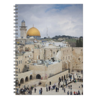 Visitors, Western Wall Plaza & Dome of the Rock Notebook