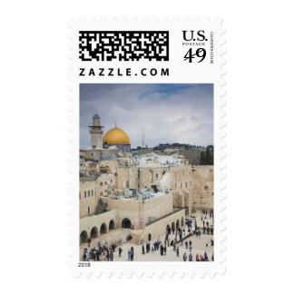 Visitors, Western Wall Plaza & Dome of the Rock Stamps