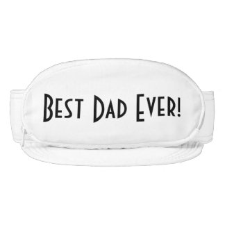 Visor Cap-Sac fanny pack for head, Best Dad Ever!