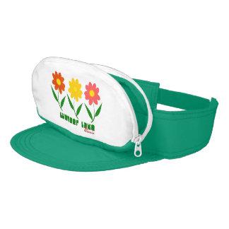 Visor Fanny Pack Pocket Dork Hat Thing Teal